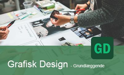 grafisk design kurser for ledige